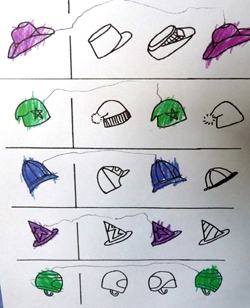 Matching activities aid the development of the visual perception and ...